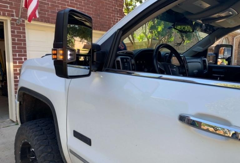GMC 2500 Tow Mirror Conversion
